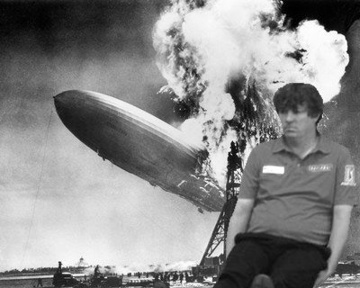 According to duffdontcare, Jason Dufner was present at the Hindenburg disaster.