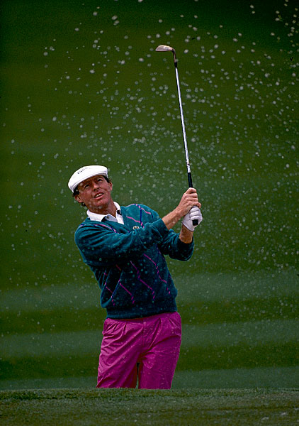 In 1989, Scott Hoch missed a two-foot par putt on the first playoff hole, No. 10, to keep Nick Faldo's hopes alive.