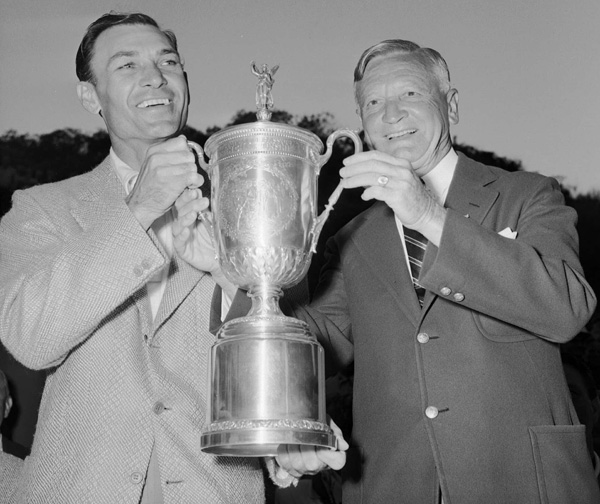 "Ben Hogan Wins His First U.S. Open in 1948                     Hogan's first U.S. Open win was his third win at the Riv in just over 18 months, counting the '47 and '48 L.A. Opens. His four-day tally (8-under-par 276) was also a U.S. Open record, smashing the previous tournament mark by five shots. Hogan isn't one to boast about his Riviera romps, so Jimmy Demaret did it for him, dubbing the Riv ""Hogan's Alley."""