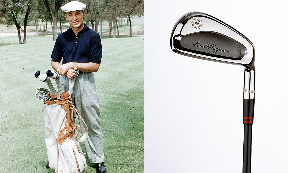 Hogan starts his own club company                       Ben Hogan started his club company in 1953, and although he sold it to AMF in 1960, and the brand changed hands several times over the years, Hogan's name was on every club until the line was discontinued in 2008.