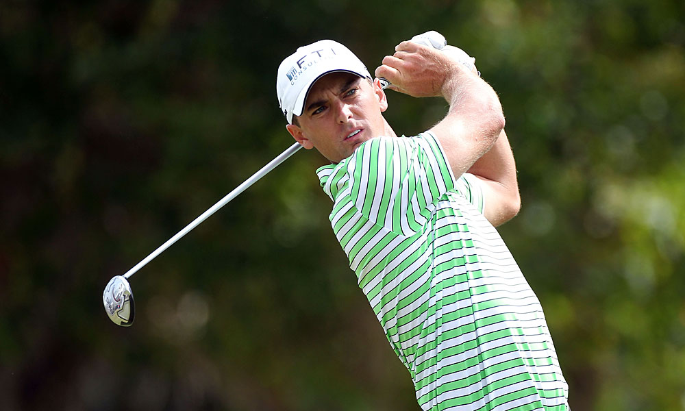 Charles Howell III birdied five of the last 10 holes to move into a tie for third.