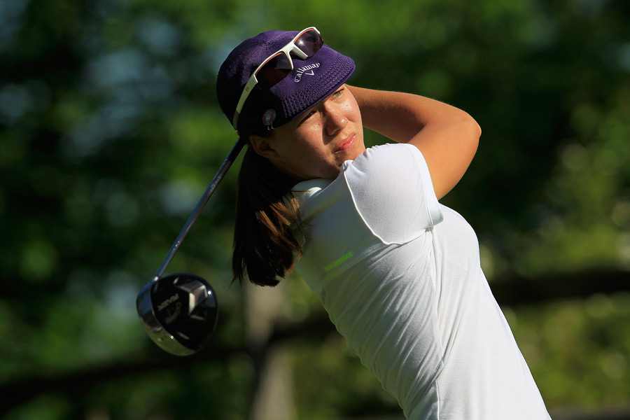 Vicky Hurst won three of the last four holes to secure a 2-up victory over So Yeon Ryu.