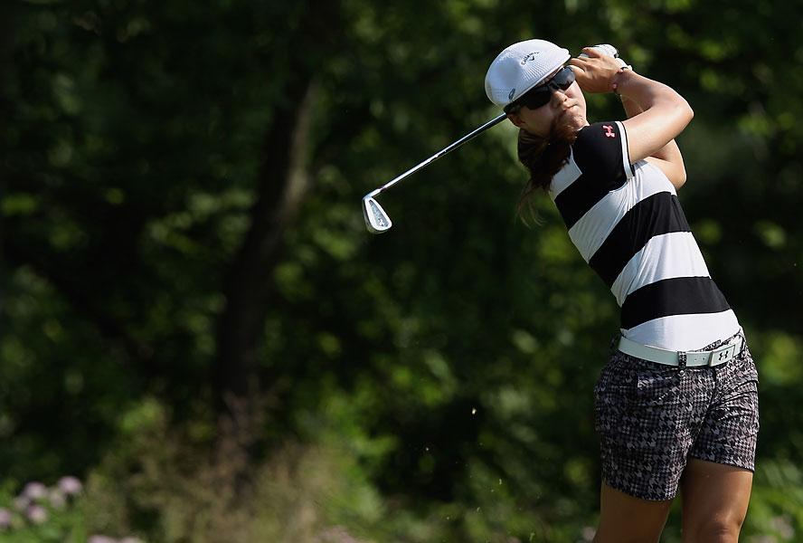 Vicky Hurst shot a two-under 70.