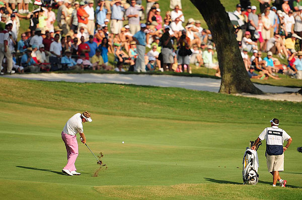 Ian Poulter made only one bogey in his final-round 70 to finish alone in second place.