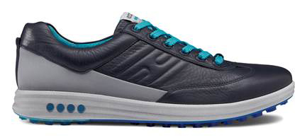 Ecco Men's Golf Street Evo One, $160; eccousa.com                       The Evo One features a hybrid non-cleated outsole, camel leather construction, leather laces and a moisture-wicking Second Skin lining.