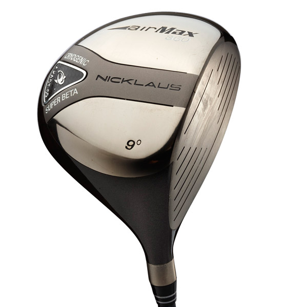 """Nicklaus Airmax DPT 360Used by Jack: 2003-2004Manufactured: 2003Majors won: NoneTechnology: """"Rigid"""" clubfaces become a thing of the past as manufacturers use strong, light materials to craft a flexible face (like a trampoline) for maximum power. This prompts the USGA to impose a """"spring-like"""" effect test.History: In 2000, the TaylorMade 300 Series was born. The company predicted that its """"too large"""" 360 cc head would be the least popular model. In fact, the 360 Ti doubled sales of its two siblings and this consumer acceptance signaled the birth of 300 cc+ clubheads."""