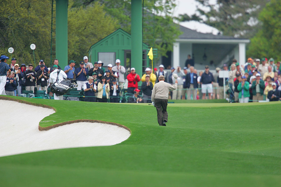 Jack Nicklaus played in his final Masters in 2005.