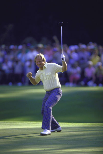 Nicklaus shot a final-round 65, including a 30 on the back nine, to win by one stroke over Tom Kite and Greg Norman.