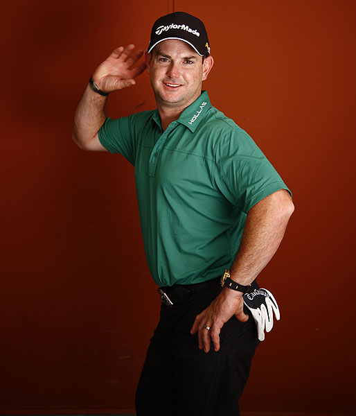 Rory Sabbatini posed in this fun shot for Golf Magazine photographer Angus Murray. This and several other portraits accompany an interview with the golfer, who shot a 10-under 63 at last week's SBS Championship, in the February issue of the magazine.
