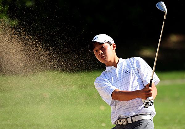 Lorens Chan, 14, shot a 2-over 72.