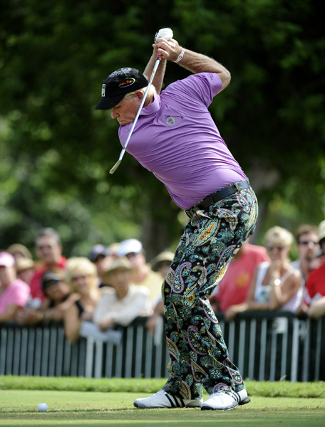 John Daly missed the cut after rounds of 68-72.