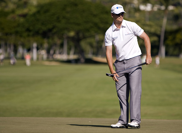 Zach Johnson finished one shot off the lead despite a triple bogey on 17.