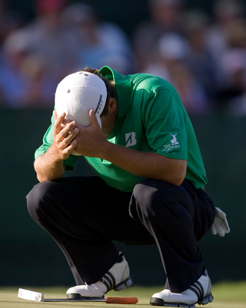 Charles Howell III finished fourth after he three-putted the 18th green.