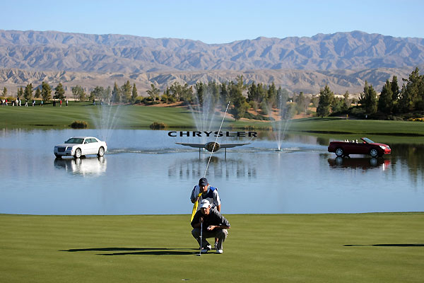 Jeff Quinney made two double bogeys on the back nine and finished with a one-over 73.