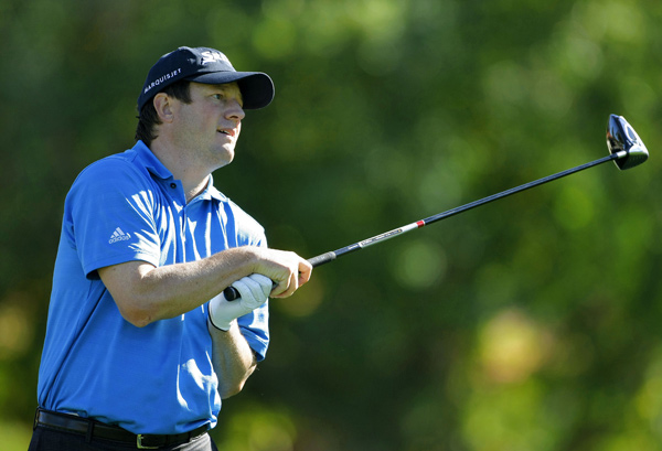 Time Clark overcame a double bogey on No. 7 to shoot a 67.