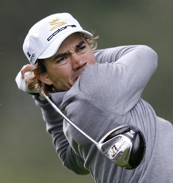 Camilo Villegas was at three under par after a first-round 69.