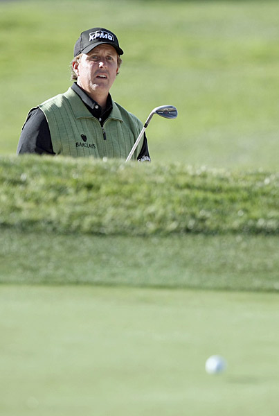 Mickelson won the Masters last year for the third time, but that proved to be his only victory of the season.