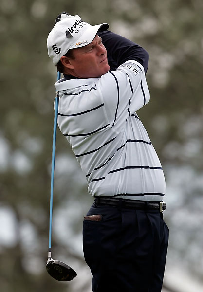 Joe Durant shot a five-under 67 and will play with Woods in the final group.