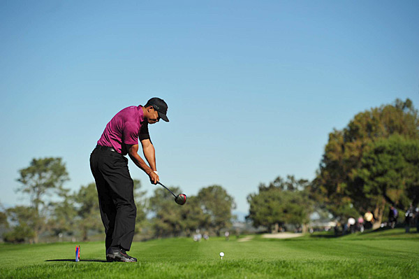 Woods is looking for his first win in over a year this week at Torrey Pines.
