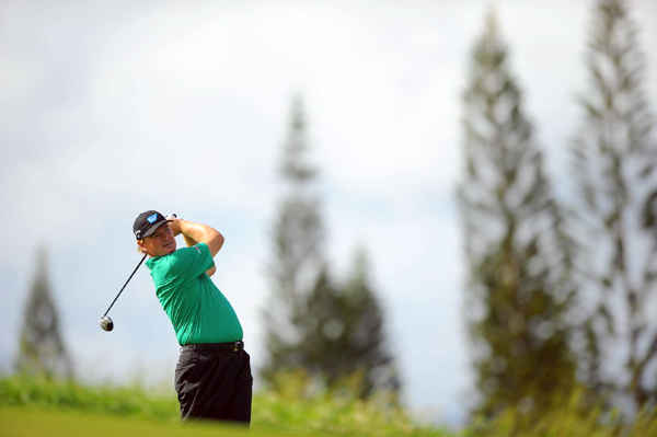 shot a 1-over 74 — 10 strokes higher than his score on Friday.