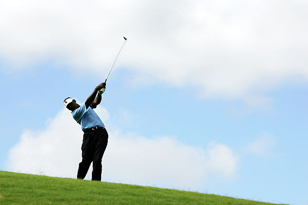 Vijay Singh shot a final-round 70 to finish at 11 under par.