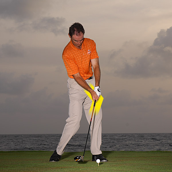 When you unhinge your wrists at the right time, all of that energy goes into your strike.
