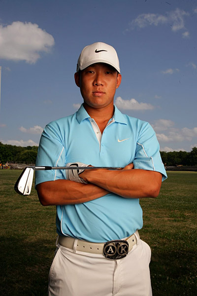 Anthony Kim                     While Woods was away Kim, 23, won the AT&T                     National (a tournament started by Tiger) for his                     second W of 2008. That was nice, but what                     really might pay dividends is Kim's 2-1-1 mark                     in the Ryder Cup at Valhalla. His sterling play                     under intense pressure was a shot of pure                     confidence, as evidenced by Kim's opening-round                     64 at the Tour Championship just four                     days after Team USA's triumph.                                          Threat level: Severe