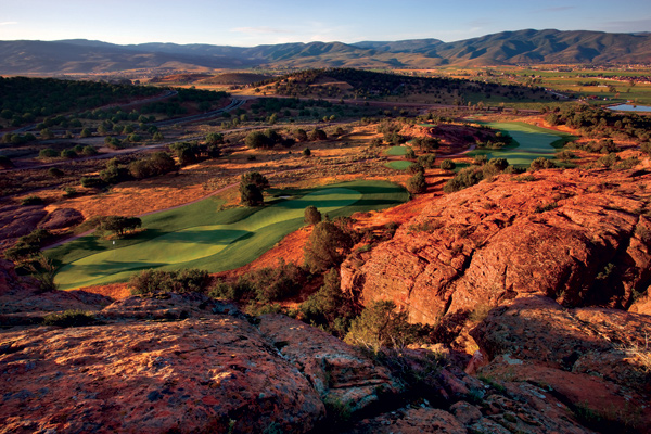 1. Best New Private Course                     Heber City, Utah                     7,653 yards, par 72                     redledges.com
