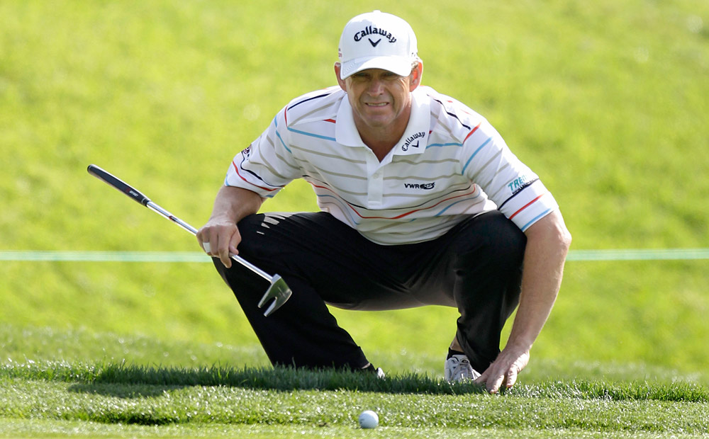 Forty-seven-year-old Lee Janzen is best known for winning two U.S. Opens: in 1993 at Baltusrol and in 1998 at the Olympic Club, the latter being his last PGA Tour victory. Janzen came up two strokes short of regaining his Tour card for 2012.