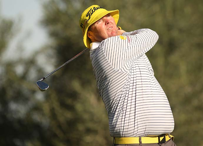 """With a few kicks in the pants from my wife, it was easy to get back and play golf and sort of get back to what I love doing because my wife knew that that's what I really, really wanted to do, and with her support and her help, I'm back playing again.""                       -Jarrod Lyle on returning to the PGA Tour after his fight with leukemia."