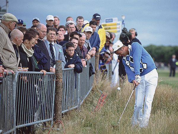 Jasper Parnevik, Sweden                       Royal Lytham & St. Annes, 2001