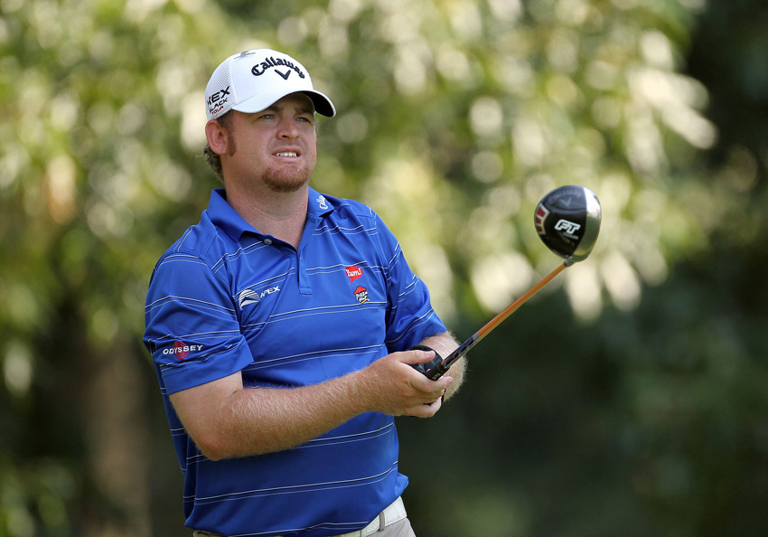 J.B. Holmes shot a 29 on the front nine and finished with a six-under 64.