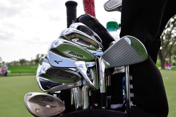 Jeff Overton will play the Honda Classic with Mizuno MP-69 irons.