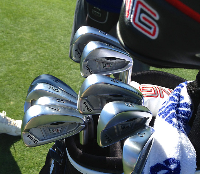 Jeff Maggert is still going strong with his trusty Ping S56 irons.