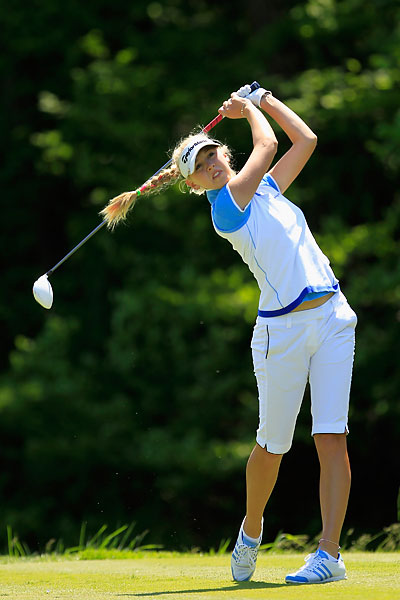 Australian Open champion Jessica Korda lost in the second round to Sun Young Yoo, 2 and 1.