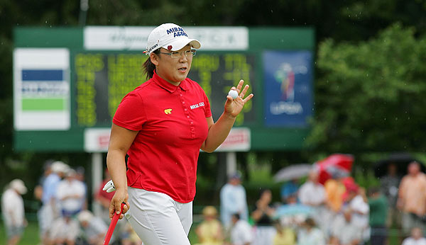 Final Round of the Wegmans LPGA                     Jiyai Shin won the Wegmans by a commanding seven strokes over Kristy McPherson and Yani Tseng.