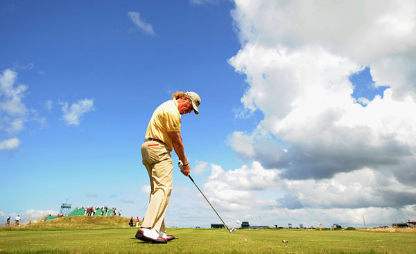 Veteran Miguel Angel Jimenez is looking for his first major win. He tied for third at the 2001 Open.