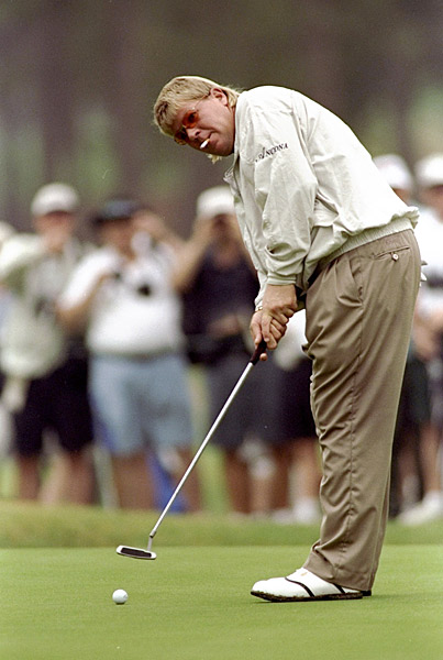 "John Daly, 11, 1999 U.S. Open, par-4 8th hole, Pinehurst No. 2                       John Daly wasn't as sanguine after making 11 on Sunday at the U.S. Open as he was after his 18 at Bay Hill. ""It's not worth it. This is my last U.S. Open — ever,"" Daly said after finishing dead last. You can watch the video here. (May not be appropriate for sensitive viewers, and not just because of Daly's sunglasses.)"