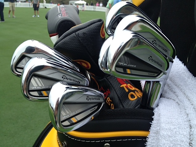 And so are his TaylorMade RocketBladez Tour irons.