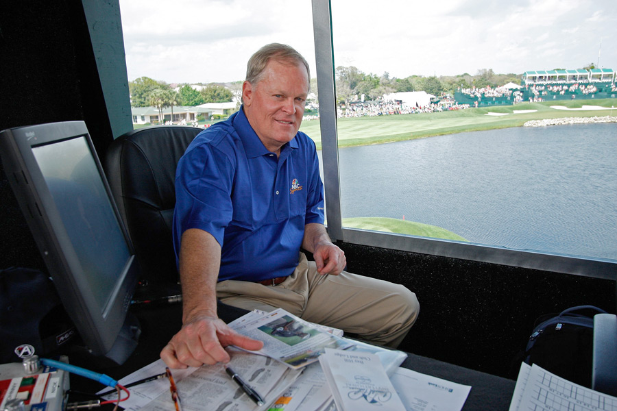 "Johnny Miller                   Famed NBC Golf announcer Miller is perhaps the most opinionated golf personality on television today. In an analysis of Australian Craig Parry's golf swing in 2004, Miller commented, ""If Ben Hogan saw that, he'd puke."" He was also ruthless in his criticism of Phil Mickelson's 2006 U.S. Open collapse at Winged Foot, using the dreaded ""c"" word as Mickelson limped home with a double bogey to lose the championship. Miller loves to remind us how good he once was, and that he shot 63 to win the 1973 U.S. Open, but his spot-on analysis makes him worth a listen. Twitter would also let us hear his thoughts during non-NBC events like the Masters and British Open."