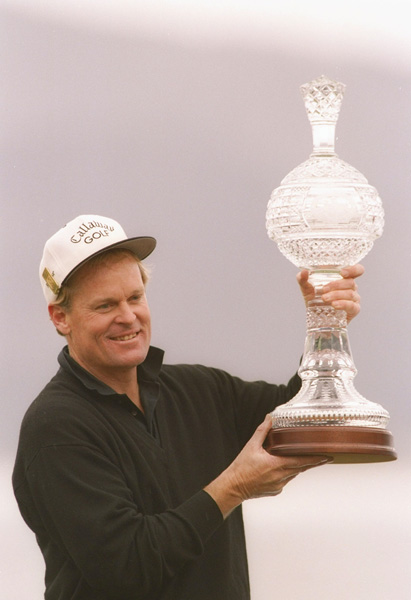 "Johnny Miller's Time-Capsule Win at the 1994 AT&T                       ""I play young at Pebble,"" said a 46-year-old, yip-afflicted Johnny Miller, having taken a rare break from the tower behind 18 to compete in an event he'd won seven years before. Sure enough, there he stood on the final hole on Sunday, needing a two-putt for a time-warp victory. After Miller's jittery two-footer dropped, runner-up Watson, two years Miller's junior, was among the first to greet him. ""Congratulations,"" Watson said. ""Now get back in the booth."""