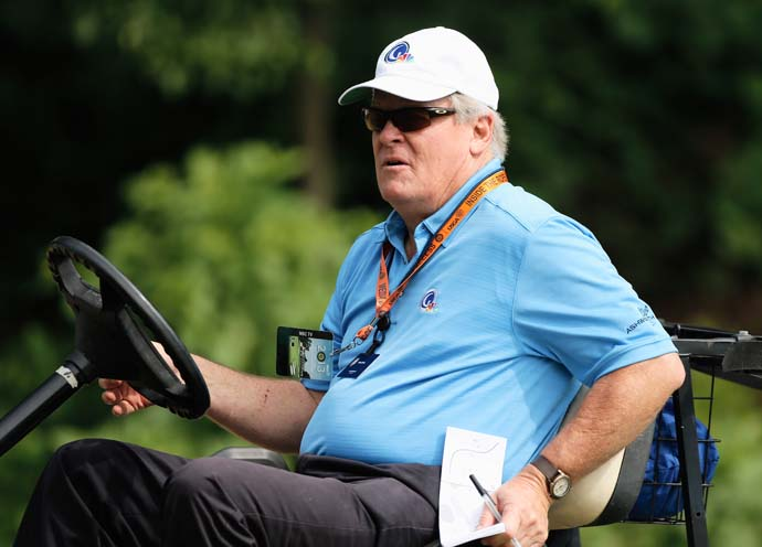 """I feel bad for the USGA in a way that money was more important than basically a good golf crew.""                       --Johnny Miller on Fox News taking over the U.S. Open broadcast from NBC in 2015 for 12 years."