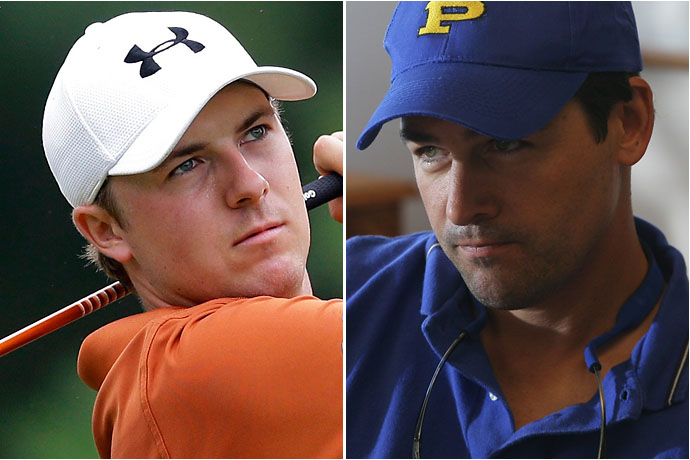 Jordan Spieth and Friday Night Light's Coach Taylor