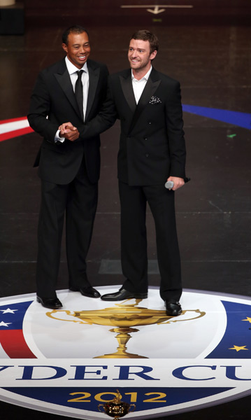 Justin Timberlake, who is serving as the U.S. team ambassador, introduced all of the players during the gala.