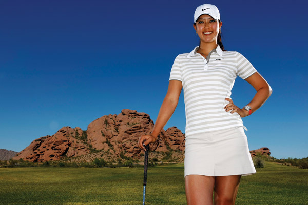 Michelle Wie                       After bursting on the golf scene as a teen, Wie has grown up in the spotlight. She earned her first professional win in 2009, her first full season on the LPGA Tour.