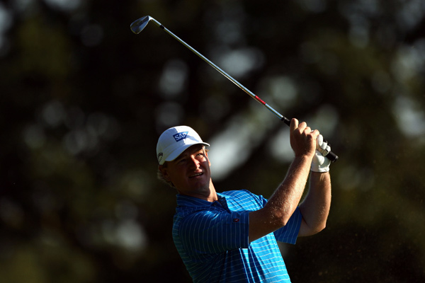 Ernie Els made five birdies and three bogeys for a 69.