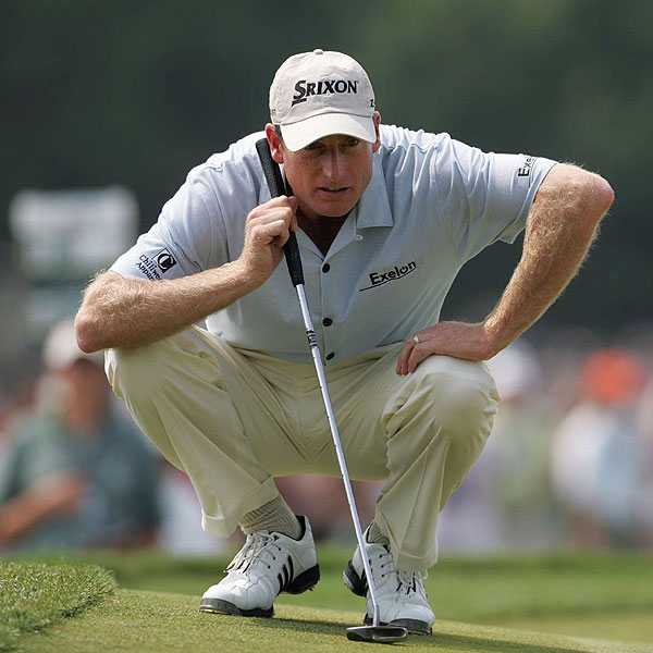 5. JIM FURYK                                              WORLD RANK 2nd                                              It doesn't matter which                       major we're talking                       about, you have                       to have Furyk in the conversation.                       He's always up                       there near the end. He                       wasn't in the picture at                       Oakmont, then he threw up                       three birdies in a row on the                       fi nal nine and could've — or maybe                       should've — won. I picked him to win,                       and for a few minutes I thought he                       was going to... Hey, a straight                       driver and great putter is a good                       bet in any major, although the British doesn't fi t his game all                       that well. He's great at driving the ball in a crosswind, but I'm                       not sure how good he is on the bump-and-run shots you have to                       play over there. One other thing that makes the British Open a                       crapshoot is that driving the ball in the fairway isn't the same                       as having your ball stay in the fairway.                                              LAST SHOT I still think the U.S. Open is Jim's best major, but                       he's so tough and determined, he could win any of them.