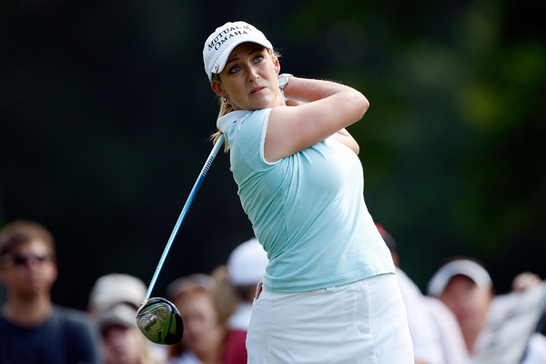 Second Round of the U.S. Women's Open                   Cristie Kerr, the 2007 U.S. Women's Open champion, leads by one after a one-under 70.