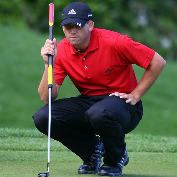 Sergio Garcia finished second at the Players Championship, but he missed the cut at the Masters and the U.S. Open.