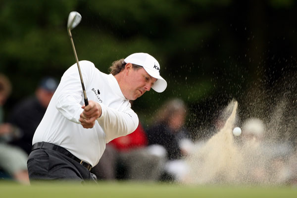 Third Round of the Scottish Open                       Phil Mickelson failed to make a move, shooting an even-par 71.